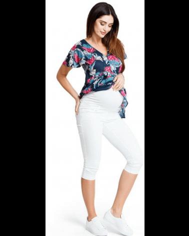Pantaloni pentru gravide 3 sferturi