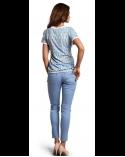 Pantaloni Candy Blue