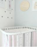 Babynest Air Balloon roz pudrat