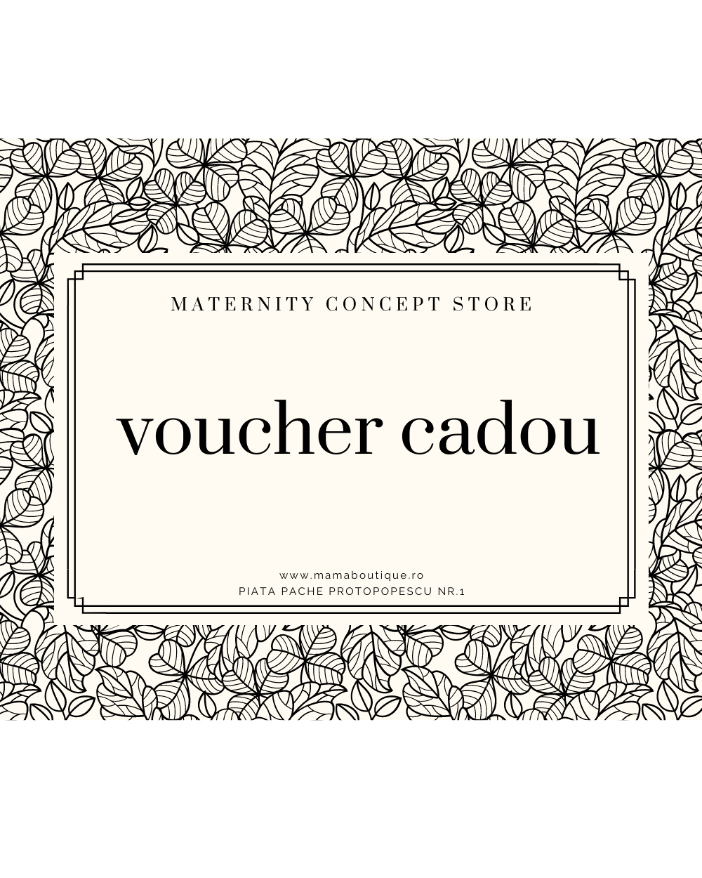 Voucher Cadou Happy Maternity Mama Boutique - 1
