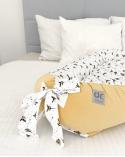 Sac de dormit pentru bebeluș Snowflake gri