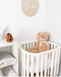 Apărătoare pat bebe cu păturică Sleep Tight