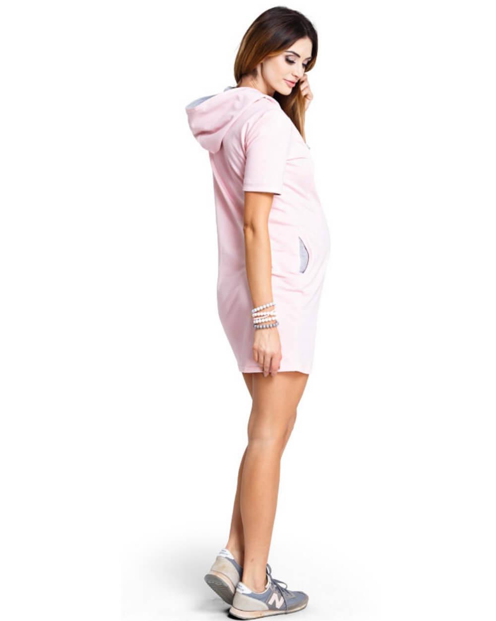 Rochie Mambo Pink XS Roz prăfuit