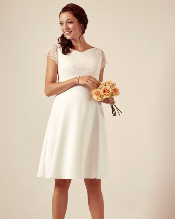 Rochie Eleanor Gown Ivory Mama Boutique
