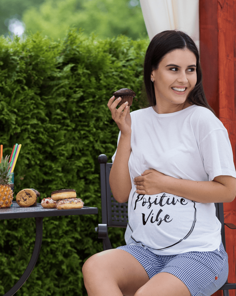 Tricou Positive Vibe Mama Boutique - 1